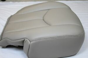 2003 2004 2005 2006 Chevy Tahoe Suburban Driver Synth Leather Seat Cover Tan 522