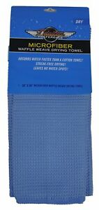 Eurow Microfiber Waffle Weave Large Drying Towel 26 In X 36 In