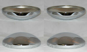 4 Cap Deal Baby Moon Wheel Rim Chrome Steel Center Caps 10 1 8 Id 10 1 2 Od