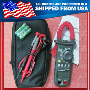 Mastech Ms2008a Mini Digital Clamp Meter Blue Backlight Datahold Auto Power