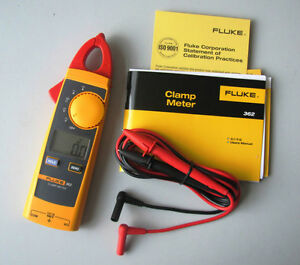 New Fluke 362 F362 Jaw Ac dc 600v Digital Clamp Meter Multimeter
