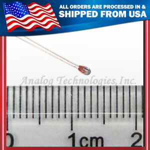 New 100 Each 100k Ntc Thermistor 1 25mm Reprap Prusa Mendel Bed And Hot End