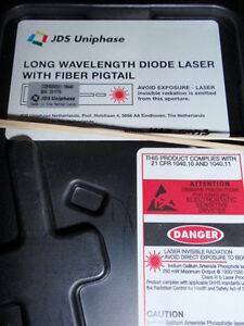 New Jdsu Cqf935 Dfb Cw Laser 10mw Long Wavelength With Pm Panda Fiber Pigtail
