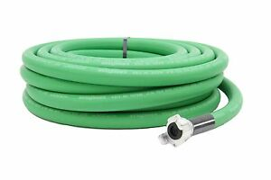 3 4 Green Jackhammer Jack Hammer Rubber Air Hose 50 Ft