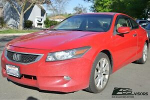 Eos Visors For 08 12 Honda Accord Coupe Jdm In Channel Side Window Deflectors