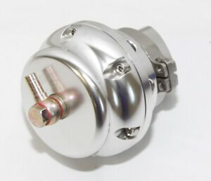 Emusa Turbo Universal Blow Off Valve 50mm V Band Silver Mustang Camaro Neon