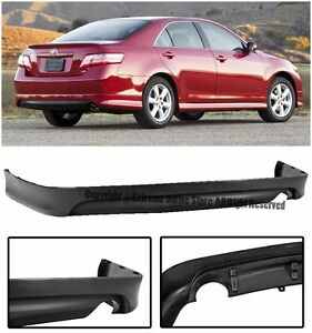 For 07 09 Toyota Camry Se Style Replacement Rear Lower Bumper Lip Spoiler Kit