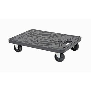 200 Lb Capacity Polypropylene Ridged Mover s Dolly 19 5 x14 5 Inches 2 Pack
