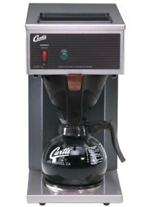 Curtis Cafe1db10a000 Pourover Coffee Brewer new Authorized Seller