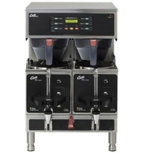 Curtis G3 Gemini Gemts Twin 1 5 Gallon Coffee Brewer new Gemts10a1000