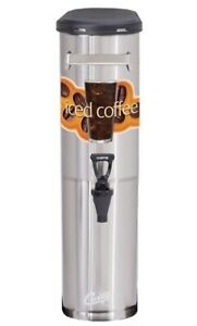Curtis Tcnc Narrow Iced Coffee Dispenser 3 5 Gallon new Authorized Seller