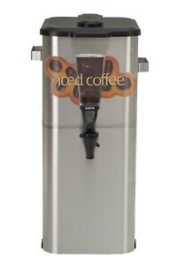Curtis Tcoc421 Oval Iced Coffee Dispenser 4 Gallon auth Seller Tcoc421g000