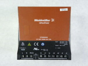 Weidmuller 8708680000 Power Supply Unit Cp Snt 250w 10a 24vdc Used