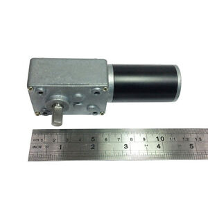 Reversible 12v Electrical Little Dc Right Angle Gear Motor 470rpm High Speed