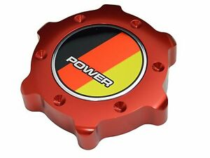 Bmw 1 3 4 5 6 7 Series Z3 Z4 Power Bbrt Billet Aluminum Red Anodized Oil Cap