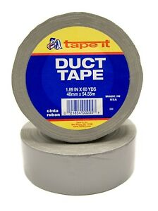 600 Rolls 25 Cases 1 89 X 60 Yds Silver Duct Tape 8 Mil Da60