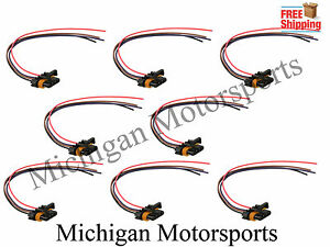 Ls1 Ls6 Ignition Coil Wiring Harness Pigtail Connector Gm Camaro Quanity Of 8