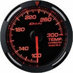 Defi Red Racer Gauge 52 Temp