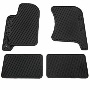 Oem 1998 2002 Subaru Forester All Weather Floor Mats Black Rubber New J5010fs500