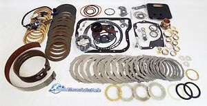 Complete Dodge 48re Transmission Master Rebuild Kit Hd Bands Solenoids Sensor