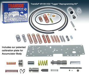 Ford Sk4r100 Tugger Transgo Transmission Reprogramming Kit 4r100 Hd2 Tugger
