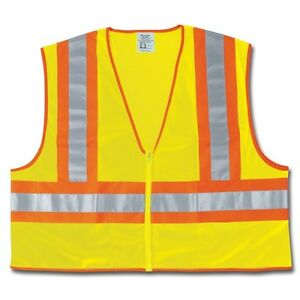 Mcr River City Wccl2ll Luminator High Visibility Safety Vest Large Qty 3