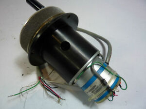 Disc Ec8210000 Rotary Shaft Encoder And Dial Used