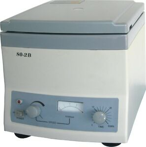 Centrifuge 80 2b Medical Laboratory 110v 4000 R min 12x20ml Centrifuge