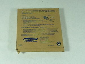Banner 17879 Fiber Optic Sensor New