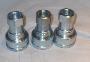 3 Pcs Eaton hansen Series 4 Hkp 1 2 Body Size hydraulic Couplings