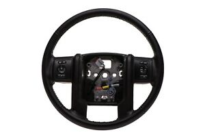 2013 2016 Ford F250 F350 Super Duty Black Leather Steering Wheel Oem Dc3z3600ca