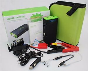 Mini Portable 12v Jump Starter 50800mah Car Jumper Booster Power Battery Bank