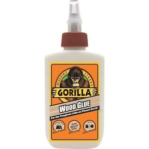 case Of 12 4oz Gorilla Wood Glue Strongest Glue adhesive In The Jungle