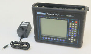 Puma 4200a Telecom Analyzer Consultronics W Battery Charger fully Tested
