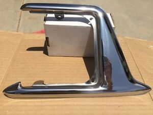 1953 Buick Roadmaster 70 Nos Gas Tank Door Guard No Mar Polished Stainless