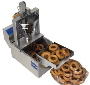 New Manual Donut Fryer Maker Making Machine Compact Size