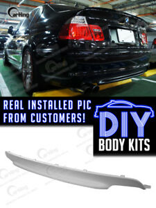 Carking Diy 99 06 Unpainted Primed Bmw 3 Series E46 M tech Ii Rear Diffuser