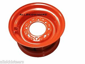 Bobcat Wheel 8 25x16 5 10 X 16 5 763 773 7753 Skid Steer Rim Tire Valve Stem