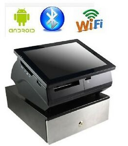 9 7 Android Touchscreen Pos Tablet With Built in Printer