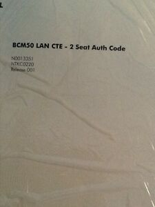 Nortel Bcm 50 Lan Cte 2 Seat Authorization Key code License Ntkc0221