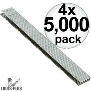 4pk 5 000 1 1 2 X 1 4 18g Narrow Crown Staples Porter cable Pns18150 New