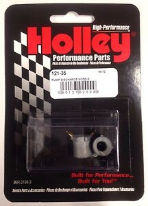 Holley 121 35 Accelerator Pump Discharge Nozzle 0 035 In Hole Size Tube Style