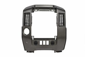2009 2013 Nissan Titan Center Console Instrument Trim Bezel Oem New