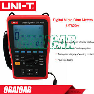 Four wire Low Resistance Wire Length Tester Micro Ohm Meter Usb Uni t Ut620a
