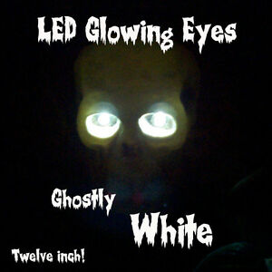 Led Glowing Eyes Halloween White 5mm 9 Volt Wide Angle 9v 12