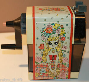 Mitsubishi Hs 165 Manual Pencil Sharpener With Anime Girl On It
