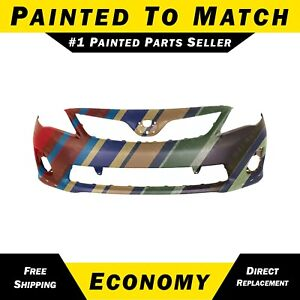 New Painted To Match Front Bumper Cover For 2011 2013 Toyota Corolla S Xrs