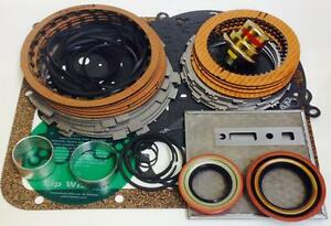 Powerglide Deluxe Rebuild Kit With Steel Plates