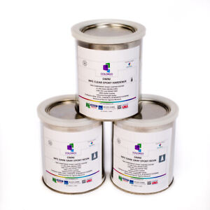 Dark Gray Epoxy Resin 100 Solids For Garage Floor plywood concrete 3 Quart Kit