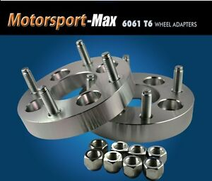 2 Wheel Adapters 4 Lug 130 4x130 Early Vw Spacers 1 Thick
